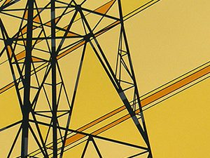 Pylon 1 screenprint