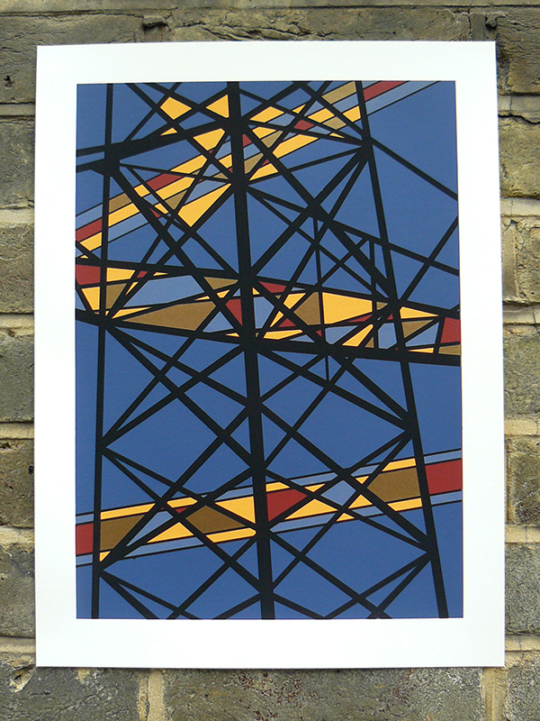 Pylon 5 screenprint