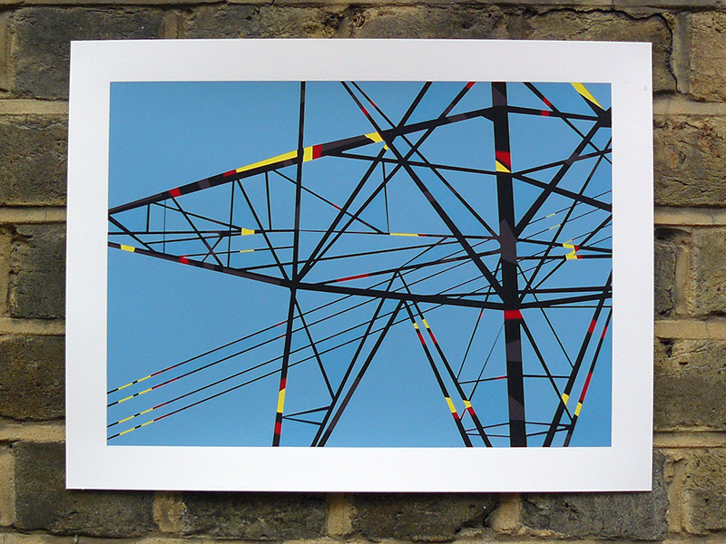 Pylon 6 screenprint